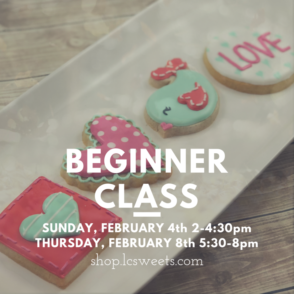 Cookie Classes Lc Sweets